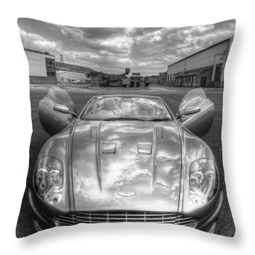 Aston Martin Dbs Throw Pillow