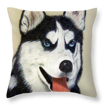 Brisco Throw Pillow by Jan Amiss