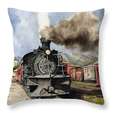 Chama Arrival Throw Pillow