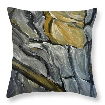 Chariot Rider Throw Pillow