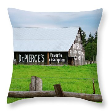 Dr Pierce' Barn 110514.109c1 Throw Pillow