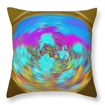 Enchanted View. Unique Art Collection Throw Pillow