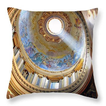 Enlightened Throw Pillow by Patrick Witz