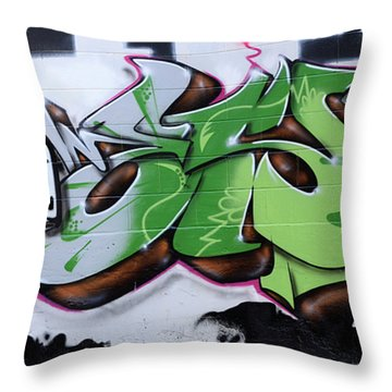 Fairstyle Throw Pillow by Bob Christopher