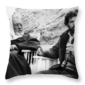Film: Star Wars, 1977 Throw Pillow by Granger