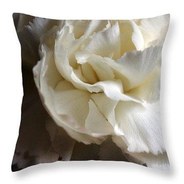 Throw Pillow featuring the photograph Flower Beauty by Deniece Platt
