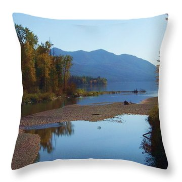 Glacier Park 11 Throw Pillow