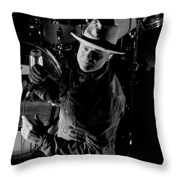 Gord Downie Throw Pillow
