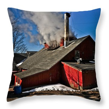 Goulds Sugarhouse Throw Pillow