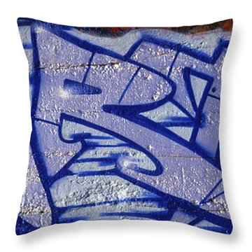 Graffiti Art-art Throw Pillow by Paul W Faust -  Impressions of Light
