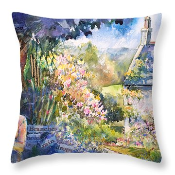 Heatbeat Of My Soul Throw Pillow by Kate Bedell