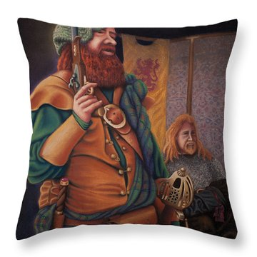 Highlanders Throw Pillow