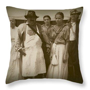 Hospital Staff Throw Pillow by David Dunham