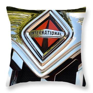 International Truck II Throw Pillow