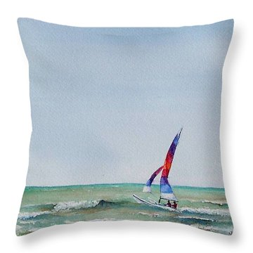 Ipperwash Beach Throw Pillow