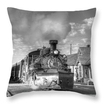 Morning Special Throw Pillow by Ken Smith