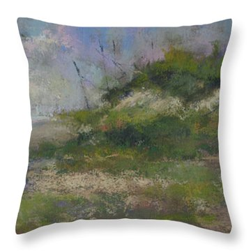 Ocean City Dune Throw Pillow by Susan Williamson