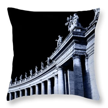 Throw Pillow featuring the photograph Pillars by Stefan Nielsen