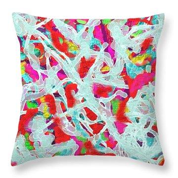 Throw Pillow featuring the digital art Sexy by Vannetta Ferguson