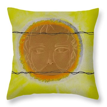 Summer Throw Pillow by Andrew Morse
