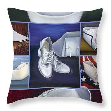 The Art Of Nursing II Throw Pillow by Marlyn Boyd