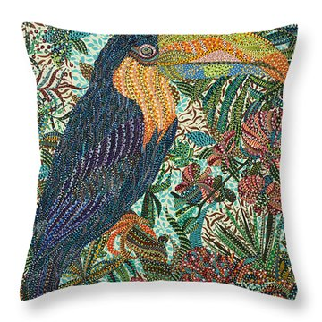 Tropican Throw Pillow