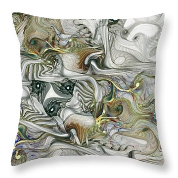 Throw Pillow featuring the digital art True Enough by NirvanaBlues