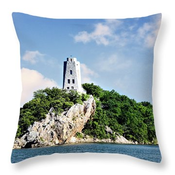 Tucker Tower 2 Throw Pillow