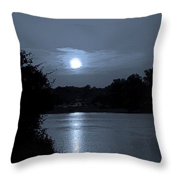 Twilight Throw Pillow by Sue Stefanowicz
