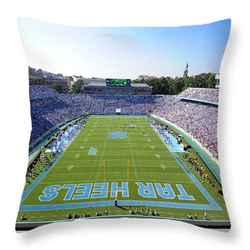 Unc Throw Pillows