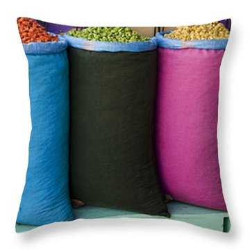 Variety Is The Spice Of Life Throw Pillow