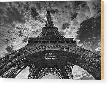 Paris Wood Prints