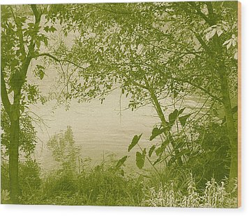 A Moment Of Peace Wood Print by Wendy J St Christopher