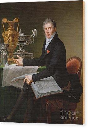 Jean-baptiste-claude Odiot Wood Print by Robert Lefevre