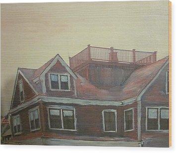 Widows Watch Wood Print by David Poyant