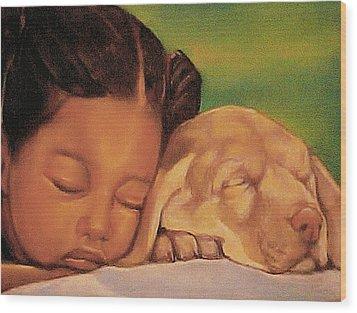 Sleeping Beauties Wood Print by Curtis James