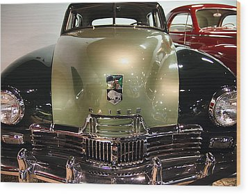 1947 Kaiser Wood Print by Wingsdomain Art and Photography
