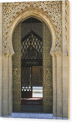 Morocco - Maroc Wood Print