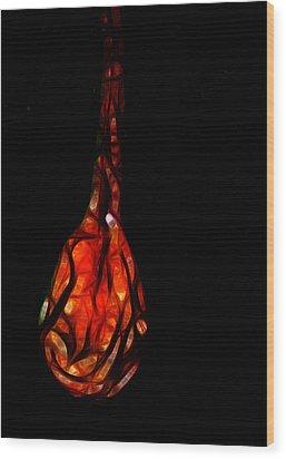 A Little Dragons Tear 1 Wood Print