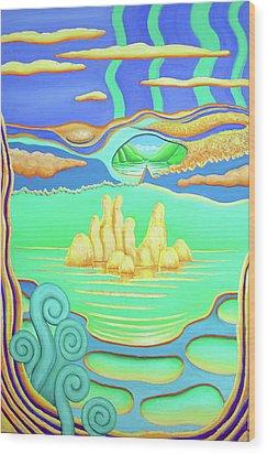 After Marysville Wood Print by Barbara Stirrup