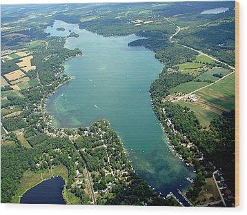 B-003 Big Cedar Lake Washington Co. Wood Print
