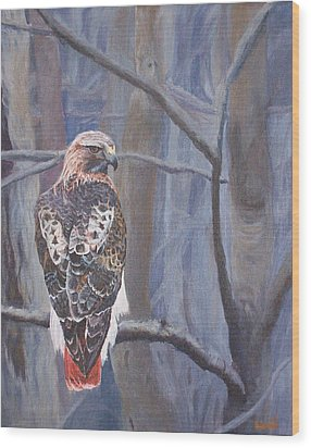 Can't See The Forest For The Trees Wood Print by Bill Werle