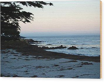 Carmel Beach Awakes Wood Print by Harvey Barrison