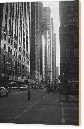 Chicago 2 Wood Print