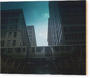 Chicago 5 Wood Print