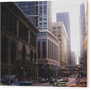 Chicago 6 Wood Print