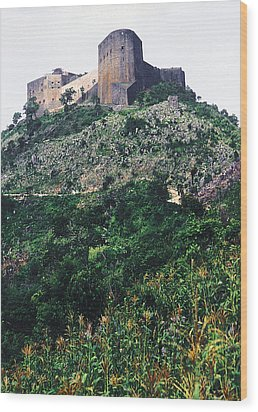 Citadelle Of Henry Christophe Wood Print by Johnny Sandaire