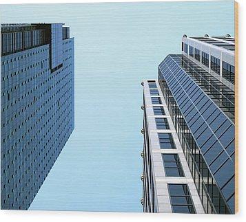 City 442 Wood Print