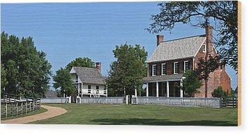 Clover Hill Tavern Appomattox Court House Virginia Wood Print by Teresa Mucha