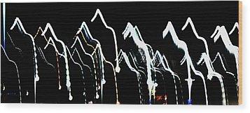 Wood Print featuring the photograph Dance by Cyryn Fyrcyd